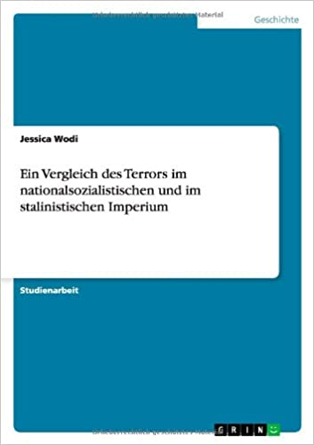 Book Ein Vergleich des Terrors im nationalsozialistischen und im stalinistischen Imperium