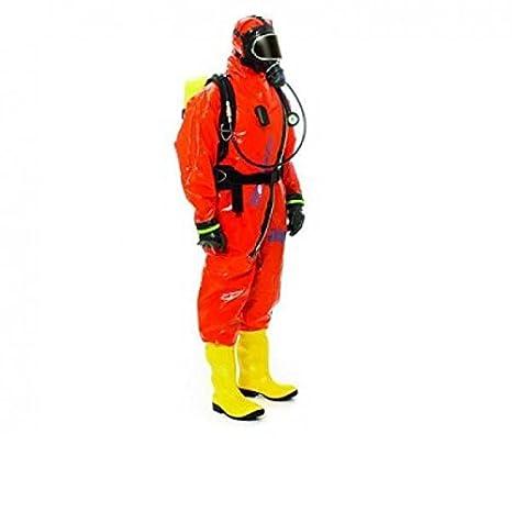Dräger 0001510 WorkMaster Traje de protección química, Talla ...