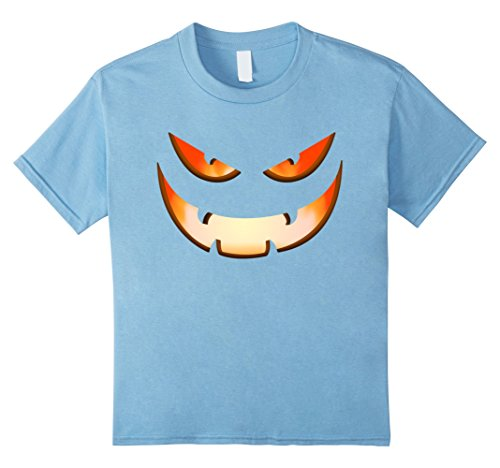 Kids Funny Proud Halloween Pumpkin Party Gifts T-shirts 10 Baby Blue