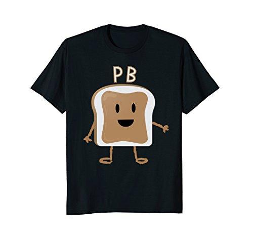 Mens PB&J T-Shirt Halloween Matching Couples Costume XL