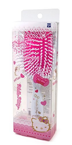 Hello Kitty Square Cushion Hair Brush Hair Care Styling Curling -