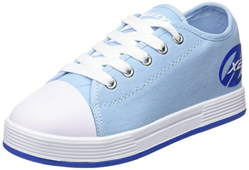 Powder Blue Kids Shoes (Heelys Fresh X2 Sneaker, Powder Blue, 13 M US Big Kid)