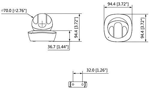 Dahua Europe IPC-A35 C/ámara de Seguridad IP Interior Almohadilla Negro Blanco C/ámara de Seguridad IP, Interior, Almohadilla, Negro, Blanco, De pl/ástico, 2048 x 1536 Pixeles C/ámara de vigilancia