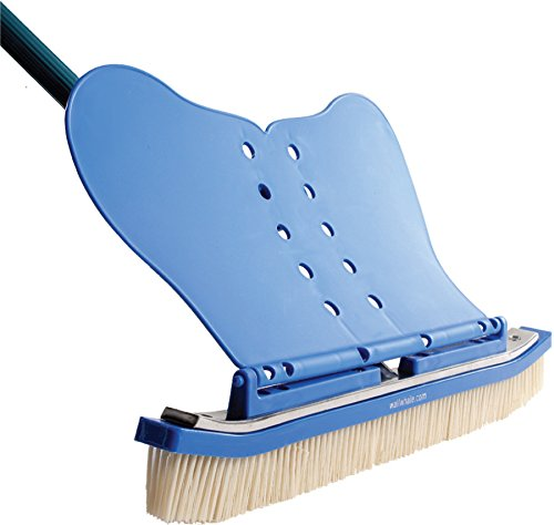 The Wall Whale Classic Swimming Pool Brush (Pool Nylon Brush)