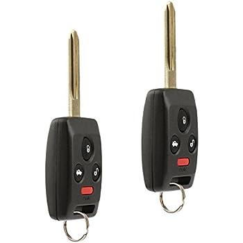 Key Fob Keyless Entry Remote Shell Case /& Pad fits Subaru 2006-2007 B9 Tribeca//2009-2010 Forester//2007-2009 Impreza//2005-2007 Legacy//2006-2007 Outback