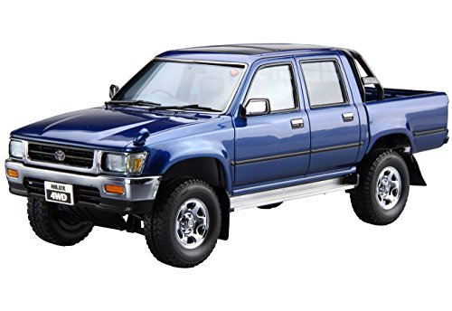 Aoshima Bunka Kyozai 1/24 The model Car Series No.20 Toyota Hilux LN107 pickup double cab 4WD 1994 Model ()