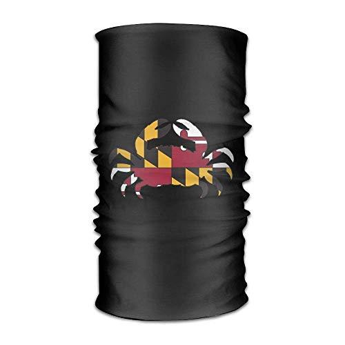Price comparison product image ARGICI Maryland Crab Sport Scarf Headbands Bandana Outdoor Sweatband Headwear Unisex
