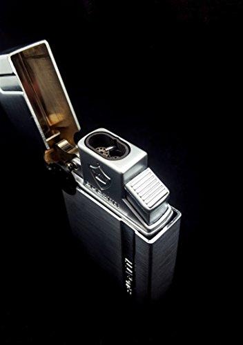 Bugatti B 2002 Butane Cigar Torch Lighter Dual Flame Dual