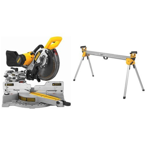 Learn More About DEWALT DW717 10-Inch Double-Bevel Sliding Compound Miter Saw with DWX723 Heavy Duty...
