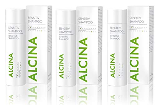 Alcina Sensitive Shampoo 3 x 250 ml