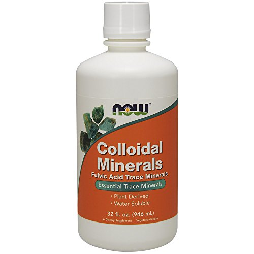 Now Colloidal Minerals Liquid,32-Ounce