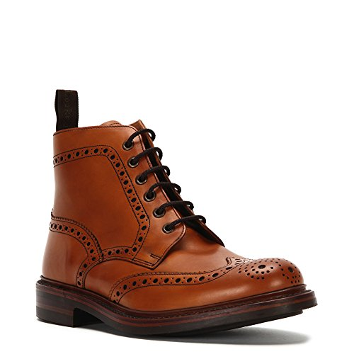 loake-mens-bedale-high-top-leather-shoes-bedch-tan-sz-65-uk