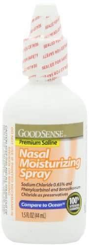 GoodSense Nasal Moisturizing Spray 1.5 FL. OZ by Good Sense (Good Sense Nasal Spray compare prices)