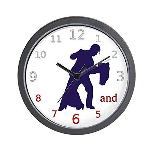 CafePress – Dancers Tango Wall Clock – Unique Decorative 10″ Wall Clock