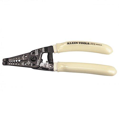 Klein Tools 11054GLW Hi Viz Stripper