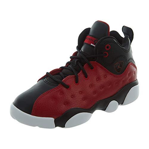 red and black jordans - 5