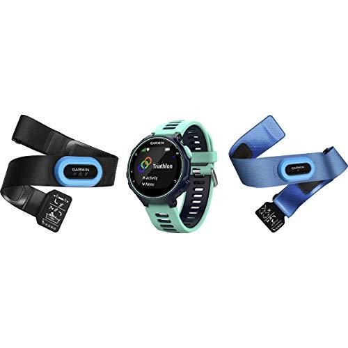 Garmin Forerunner 735XT Tri-Bundle Midnight Blue/Frost Blue, One Size