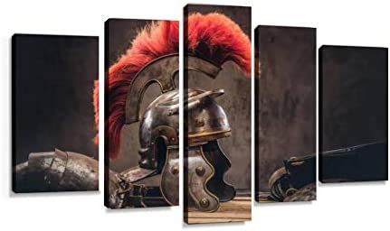 Complete Combat Equipment Of The Ancient Greek Warrior Lie