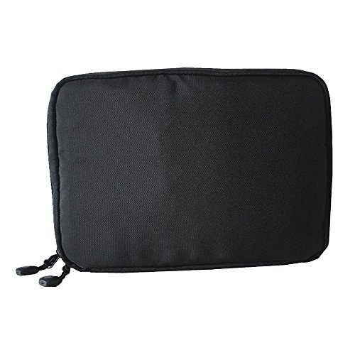 Baiyu Waterproof Electronic Accessories Organiser Portable Travel Storage Bag Multifunctional Digital Pouch Holder Organizer Case Size 22.6*15.7*3.6cm--Black