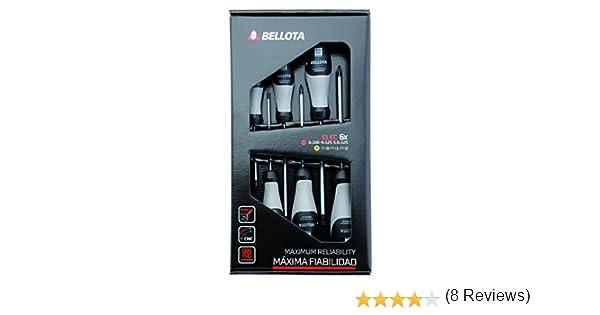 Bellota 66291-ELEC Juego Destornilladores Electricista 6 Unidades