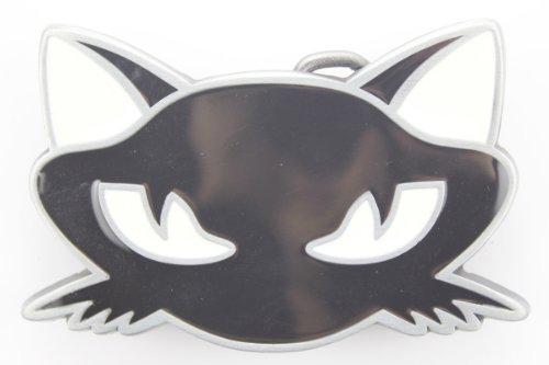 Hogar Mens Zinic Alloy Cartoon Belt Buckle Black Cat Face Buckles Color (Black Cat Belt Buckle)