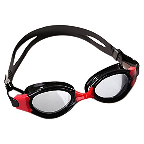 Kids Swim Goggles,JIEJIA Clear Kids (Ages 6-16) Triathlon Swim Goggles No Leaking Anti-Fog UV Protection Lens with Free Protection Case for Kids,Boys&Girls