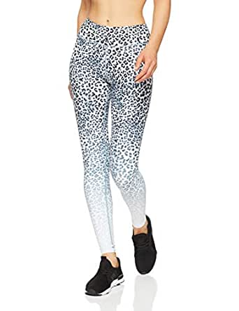 Dharma Bums Women's Jungle Cat Ombre High Waist Printed Legging - Full Length, Multicoloured, Medium