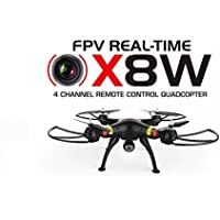 2015 New Version Syma X8W WiFi Real Time Video 2.4G 4ch 6 Axis Venture with 2MP Wide Angle FPV Camera RC Quadcopter RTF