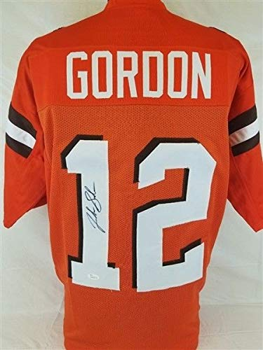 sports shoes 34ac2 6f45c Josh Gordon Autographed Signed Cleveland Browns Jersey ...