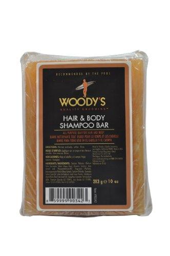 Woody's Meat & Potatoes Hair & Body Shampoo Bar, 8 oz (All Purpose Shampoo Bar)
