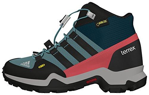 adidas Terrex Mid Gtx K, Zapatillas de Senderismo para Niños Varios Colores (Acevap / Negbas / Vertec)