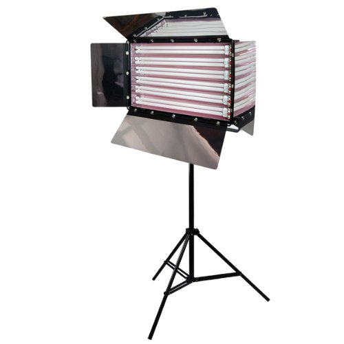 LimoStudio Photo Studio 550W Digital Light Fluorescent 6-Bank Barndoor Light Panel,AGG1007 by LimoStudio