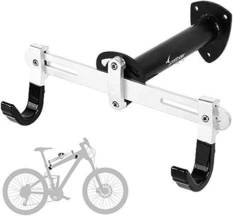 Sportneer Soporte de Pared para Bicicleta Soporte de Montaje para Bicicleta de Carretera, Bicicleta de montaña, BMX, Ángulo y Longitud Ajustable: Amazon.es: Deportes y aire libre