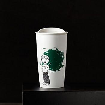Amazon Com Starbucks Double Wall Ceramic Traveler 12 Fl