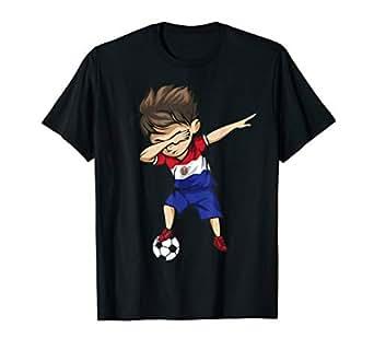 Amazon.com: punzonar fútbol Boy playera de Paraguay ...