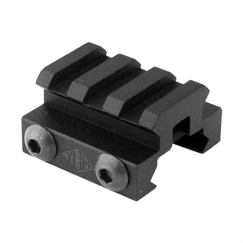 Yankee Hill Machine 3 Slot Picatinny Mini Riser, Black