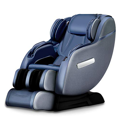 Real Relax SL Track Robots Hands Body Scan Zero Gravity Space-Saving Assembled Massage Chair...