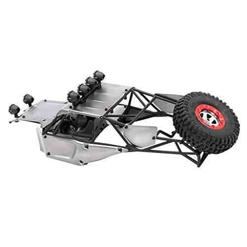 (Flameer 1/12th 4WD RC Rock Crawler Gray Metal Body Shell Kits DIY for FY03 JJRC Q39 )