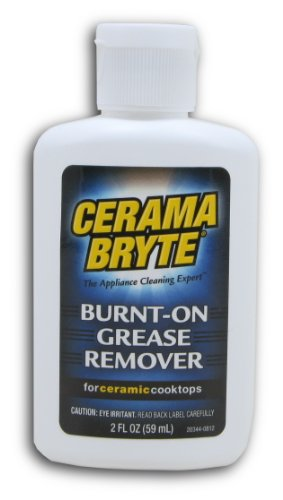Cerama Bryte Burnt on Grease Remover, 2 Ounce Bottle (20812)
