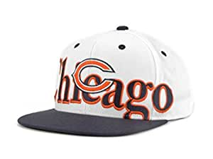 92b79b26e0e Amazon.com   Chicago Bears Snapback Adjustable One Size Navy Blue ...