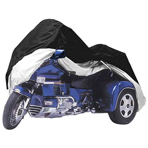 Dust Cover Trike - Formosa Covers Premium Trike Cover fits Honda Goldwing or Harley Davidson - One Size Fits All