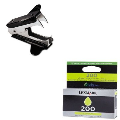 KITLEX14L0088UNV00700 - Value Kit - Lexmark 14L0088 200 Ink (LEX14L0088) and Universal Jaw Style Staple Remover (UNV00700) by Lexmark