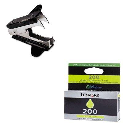 KITLEX14L0088UNV00700 - Value Kit - Lexmark 14L0088 200 Ink (LEX14L0088) and Universal Jaw Style Staple Remover (UNV00700)