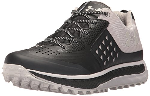 Under Armour Men's Freedom Horizon STR, Black/Gray Matter/Gray Matter, 12 D(M) - S Str
