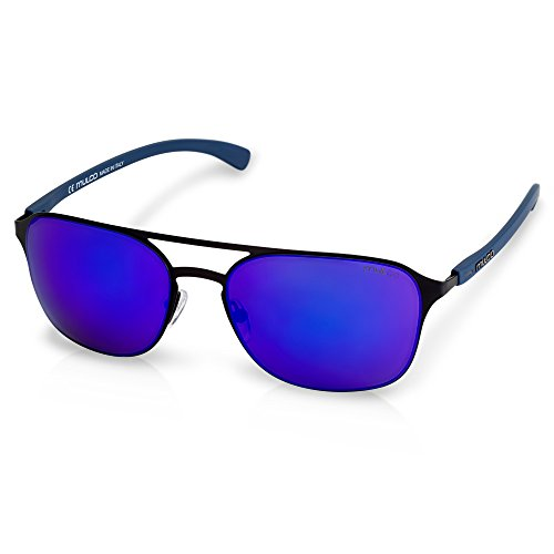 Mulco Illusion HM Black Frame / Blue Lens 50 mm - Hm Sunglasses