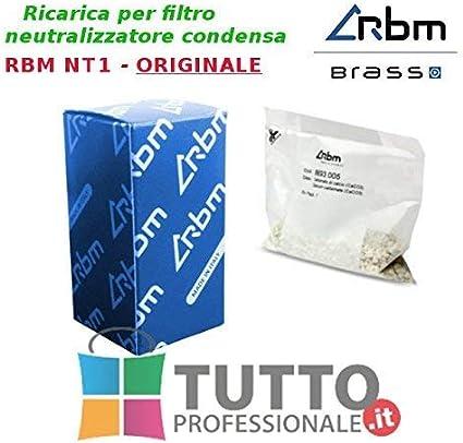 RBM 4CAJCS02 Recarga neutralizadores Filtro NT1 Carga neutralizante de carbonato