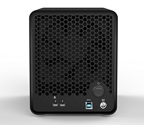 Drobo 5D 20TB: Direct Attached Storage - 5 bay array -  20TB storage included with 5 x 4TB hard drives - USB 3 and 2 x Thunderbolt 2 ports (DRDR5A21-20TB) by Drobo (Image #1)