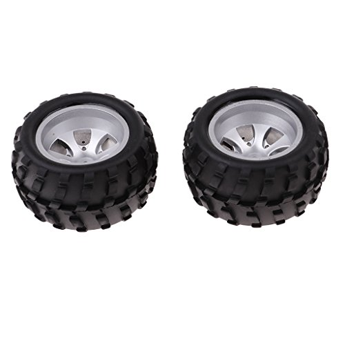 4pcs Black Rubber Tire Tyres for WLtoys A979 A979-B A979-A RC Car Spare Part