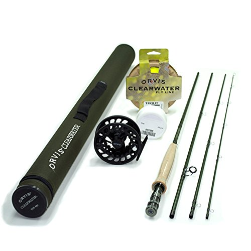 Cheap Orvis Clearwater 4 weight 9ft Fly Rod Outfit 904-4