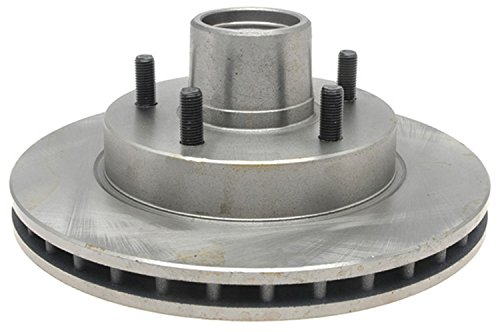 ACDelco 18A87A Advantage Non-Coated Front Disc Brake Rotor and Hub Assembly (Front Brake Hub Assembly)